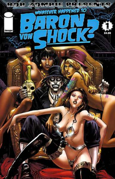 Whatever Happened to Baron Von Shock? #1 comic books - cover scans photos Whatever Happened to Baron Von Shock? #1 comic books - covers, picture gallery
