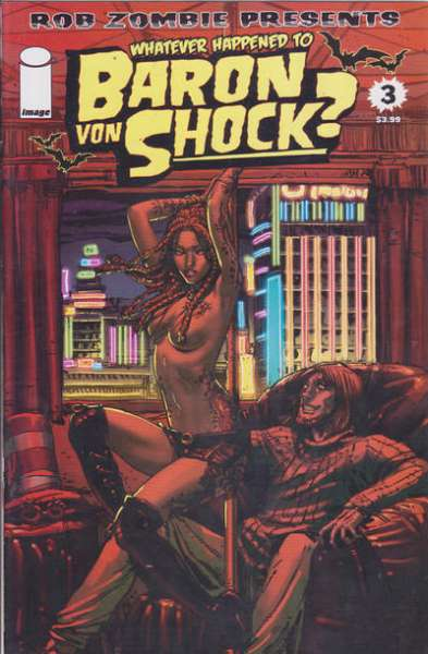 Whatever Happened to Baron Von Shock? #3 comic books - cover scans photos Whatever Happened to Baron Von Shock? #3 comic books - covers, picture gallery