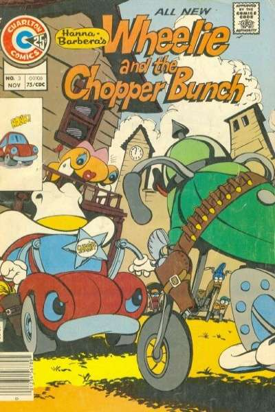 Wheelie and the Chopper Bunch #3 Comic Books - Covers, Scans, Photos  in Wheelie and the Chopper Bunch Comic Books - Covers, Scans, Gallery