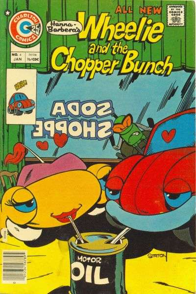 Wheelie and the Chopper Bunch #4 comic books - cover scans photos Wheelie and the Chopper Bunch #4 comic books - covers, picture gallery
