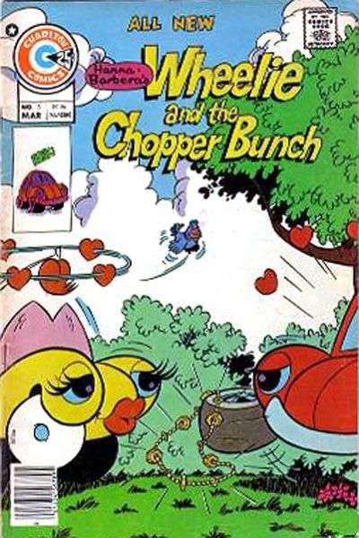 Wheelie and the Chopper Bunch #5 Comic Books - Covers, Scans, Photos  in Wheelie and the Chopper Bunch Comic Books - Covers, Scans, Gallery