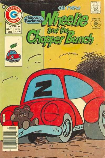Wheelie and the Chopper Bunch #7 Comic Books - Covers, Scans, Photos  in Wheelie and the Chopper Bunch Comic Books - Covers, Scans, Gallery