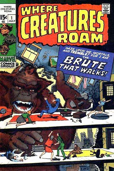 Where Creatures Roam Comic Books. Where Creatures Roam Comics.
