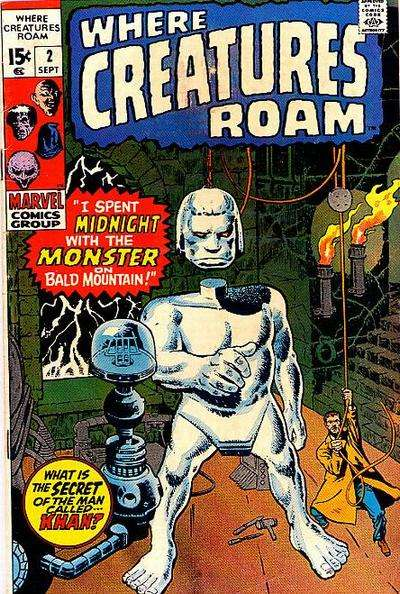 Where Creatures Roam #2 Comic Books - Covers, Scans, Photos  in Where Creatures Roam Comic Books - Covers, Scans, Gallery