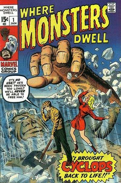 Where Monsters Dwell #1 comic books for sale
