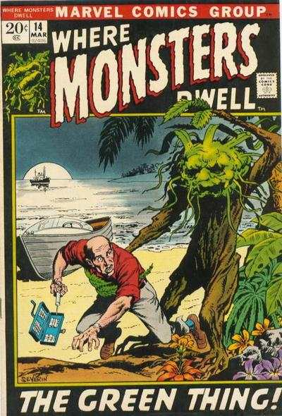 Where Monsters Dwell #14 comic books for sale