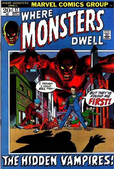 Where Monsters Dwell #17 comic books for sale