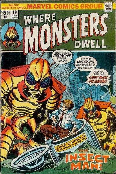 Where Monsters Dwell #19 comic books for sale
