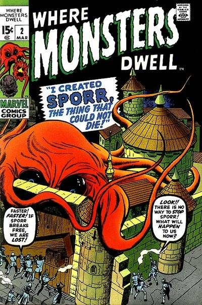 Where Monsters Dwell #2 comic books for sale