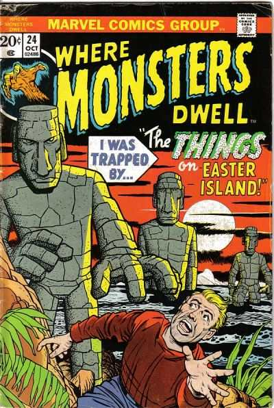 Where Monsters Dwell #24 Comic Books - Covers, Scans, Photos  in Where Monsters Dwell Comic Books - Covers, Scans, Gallery