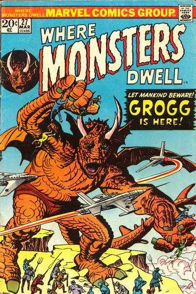 Where Monsters Dwell #27 comic books for sale