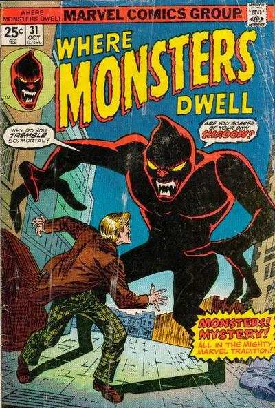 Where Monsters Dwell #31 Comic Books - Covers, Scans, Photos  in Where Monsters Dwell Comic Books - Covers, Scans, Gallery