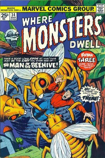 Where Monsters Dwell #34 comic books for sale