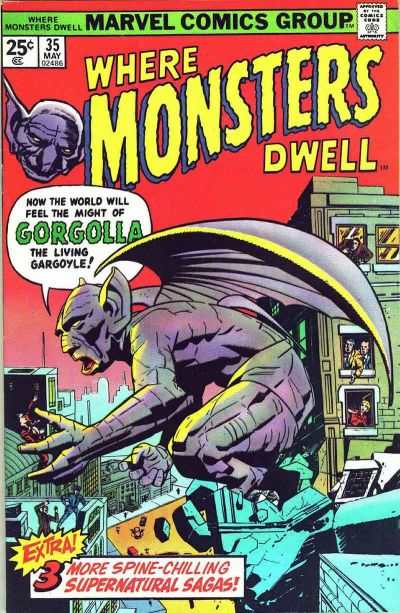 Where Monsters Dwell #35 Comic Books - Covers, Scans, Photos  in Where Monsters Dwell Comic Books - Covers, Scans, Gallery