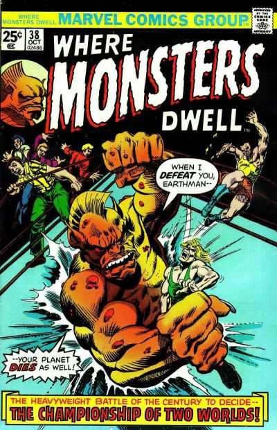 Where Monsters Dwell #38 Comic Books - Covers, Scans, Photos  in Where Monsters Dwell Comic Books - Covers, Scans, Gallery