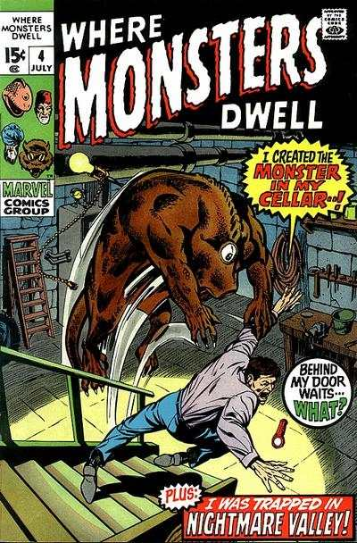 Where Monsters Dwell #4 comic books for sale