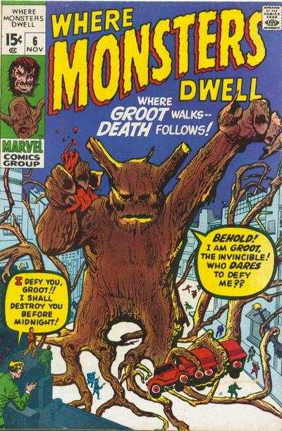 Where Monsters Dwell #6 Comic Books - Covers, Scans, Photos  in Where Monsters Dwell Comic Books - Covers, Scans, Gallery