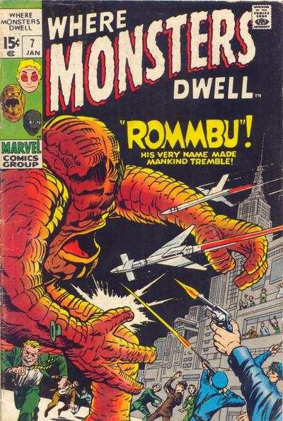 Where Monsters Dwell #7 comic books for sale