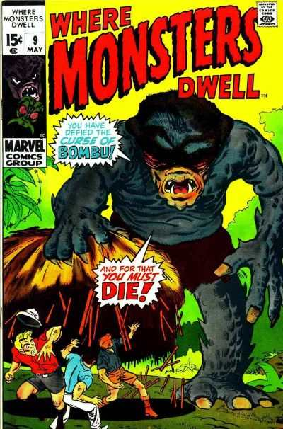 Where Monsters Dwell #9 Comic Books - Covers, Scans, Photos  in Where Monsters Dwell Comic Books - Covers, Scans, Gallery