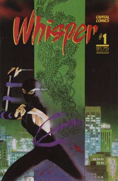 Whisper #1 Comic Books - Covers, Scans, Photos  in Whisper Comic Books - Covers, Scans, Gallery