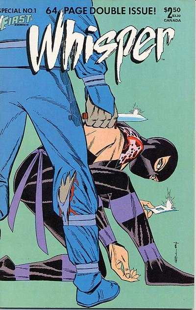 Whisper #1 comic books - cover scans photos Whisper #1 comic books - covers, picture gallery
