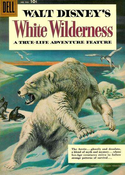White Wilderness Comic Books. White Wilderness Comics.