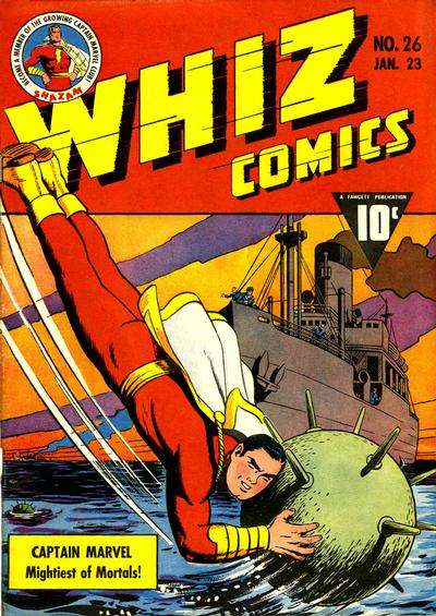 Whiz Comics #26 comic books for sale