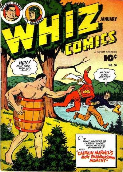 Whiz Comics #50 comic books for sale