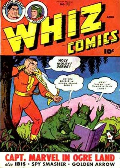 Whiz Comics #73 comic books - cover scans photos Whiz Comics #73 comic books - covers, picture gallery