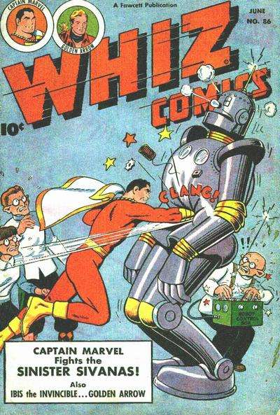 Whiz Comics #86 cheap bargain discounted comic books Whiz Comics #86 comic books