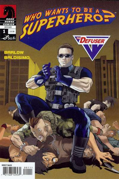Who Wants to be a Superhero?: Defuser #1 comic books - cover scans photos Who Wants to be a Superhero?: Defuser #1 comic books - covers, picture gallery