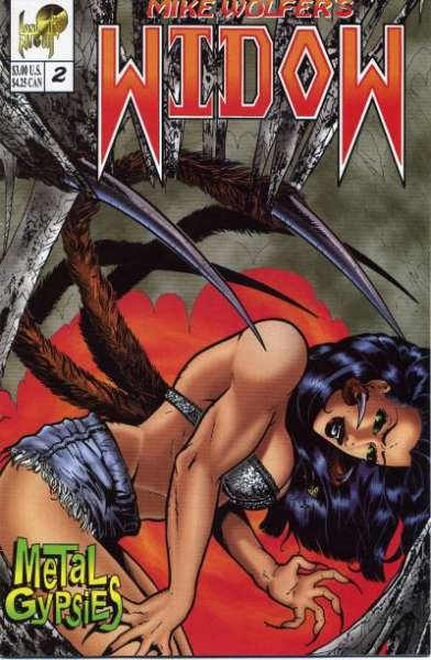 Widow: Metal Gypsies #2 comic books for sale