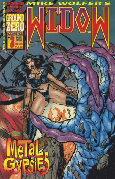 Widow: Metal Gypsies #3 comic books for sale