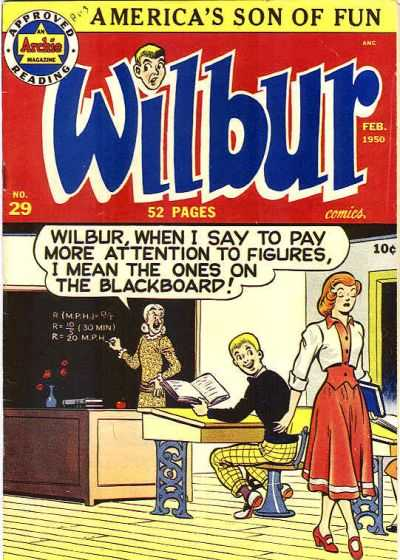 Wilbur Comics #29 Comic Books - Covers, Scans, Photos  in Wilbur Comics Comic Books - Covers, Scans, Gallery
