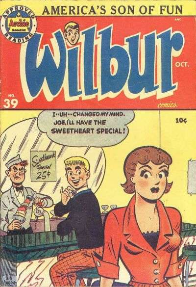 Wilbur Comics #39 Comic Books - Covers, Scans, Photos  in Wilbur Comics Comic Books - Covers, Scans, Gallery