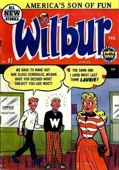 Wilbur Comics #47 Comic Books - Covers, Scans, Photos  in Wilbur Comics Comic Books - Covers, Scans, Gallery
