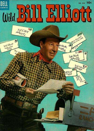 Wild Bill Elliot #12 comic books for sale