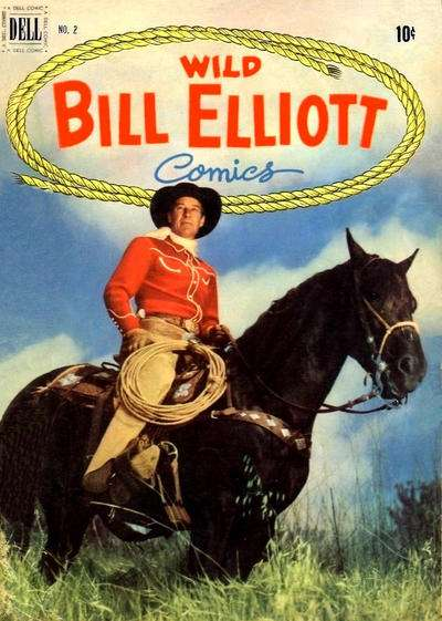 Wild Bill Elliot #2 comic books for sale