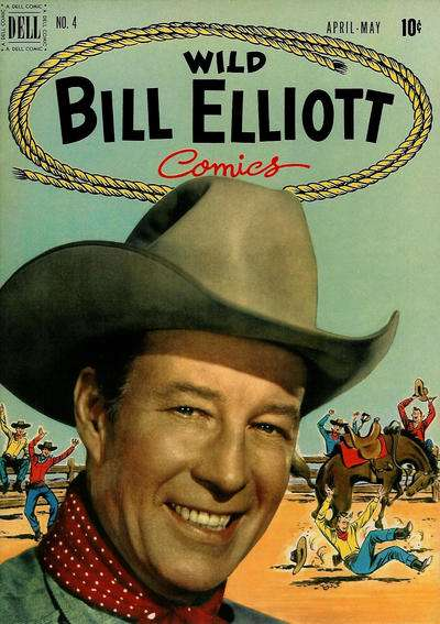Wild Bill Elliot #4 comic books - cover scans photos Wild Bill Elliot #4 comic books - covers, picture gallery