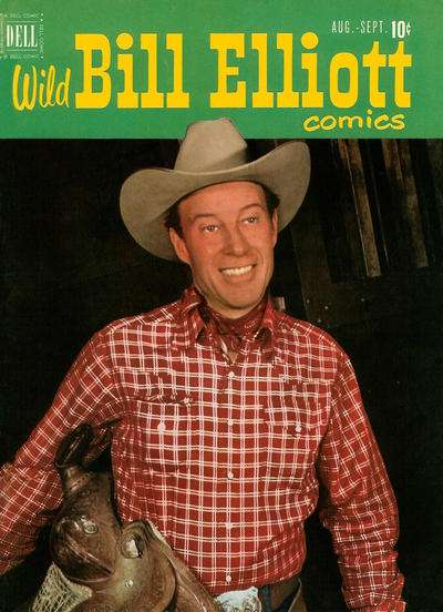 Wild Bill Elliot #6 comic books for sale