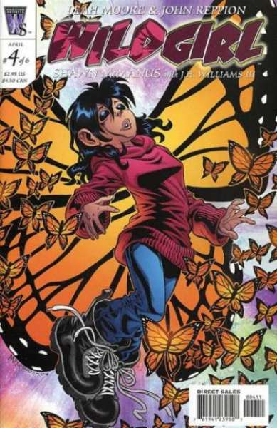 Wild Girl #4 Comic Books - Covers, Scans, Photos  in Wild Girl Comic Books - Covers, Scans, Gallery