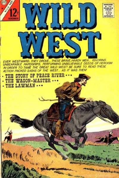Wild West Comic Books. Wild West Comics.