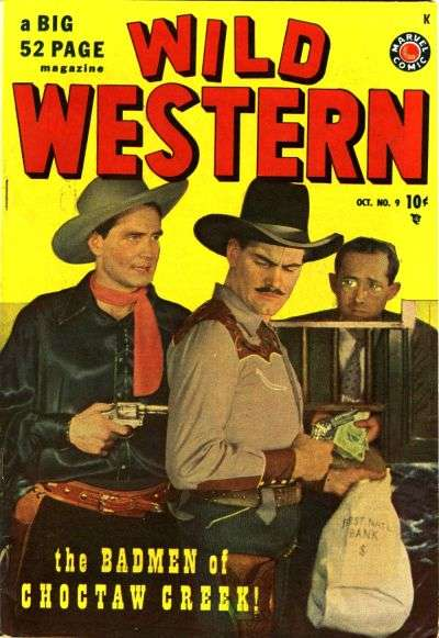 Wild Western #9 comic books - cover scans photos Wild Western #9 comic books - covers, picture gallery