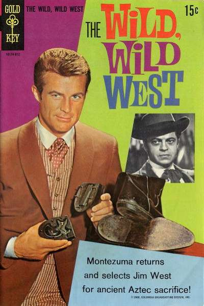 Wild Wild West #4 Comic Books - Covers, Scans, Photos  in Wild Wild West Comic Books - Covers, Scans, Gallery