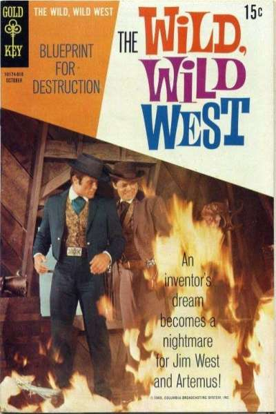 Wild Wild West #7 Comic Books - Covers, Scans, Photos  in Wild Wild West Comic Books - Covers, Scans, Gallery