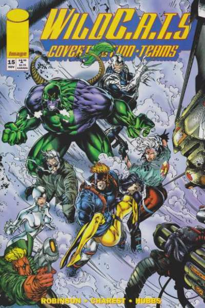 WildC.A.T.S.: Covert Action Teams #15 comic books for sale
