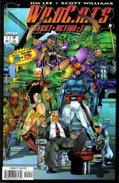 WildC.A.T.S.: Covert Action Teams #1 comic books for sale