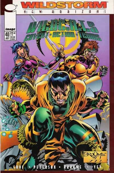 WildC.A.T.S.: Covert Action Teams #40 comic books for sale