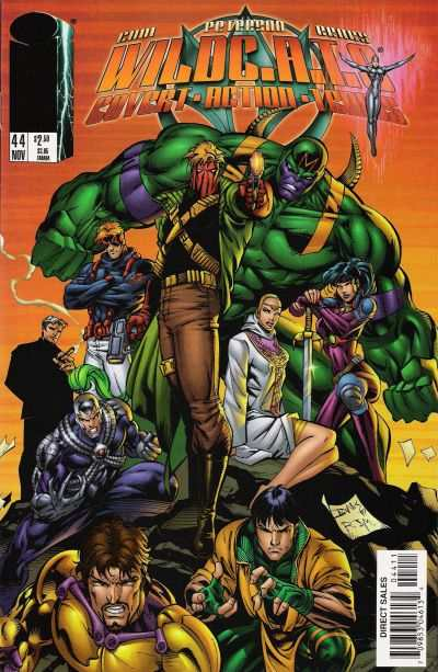 WildC.A.T.S.: Covert Action Teams #44 comic books for sale