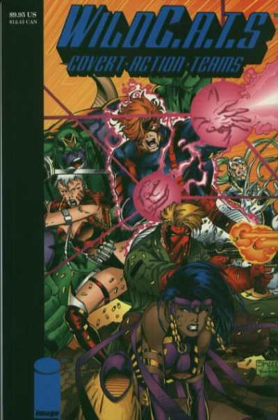 WildC.A.T.S.: Covert Action Teams #1 comic books - cover scans photos WildC.A.T.S.: Covert Action Teams #1 comic books - covers, picture gallery